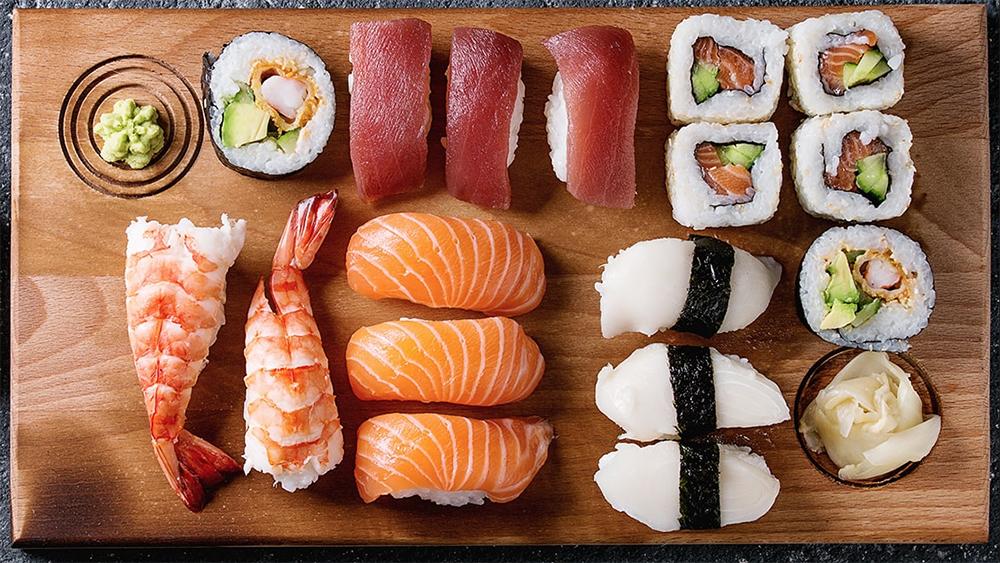 Sushi at Lumi
