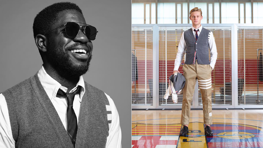 Thom Browne has designed a second outfit for FC Barcelona