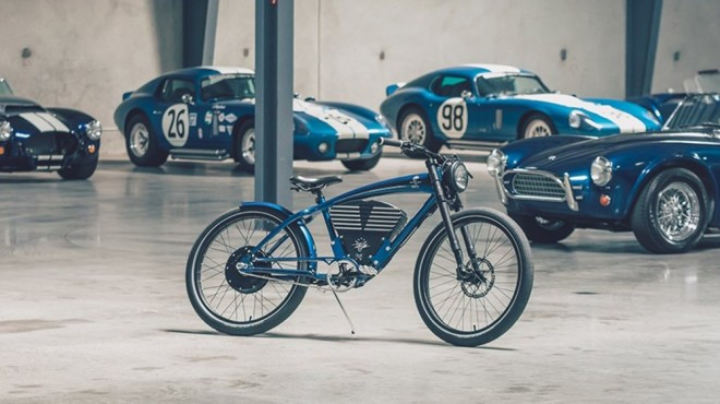 Vintage Electric x Shelby's Two-Wheeled Cobra