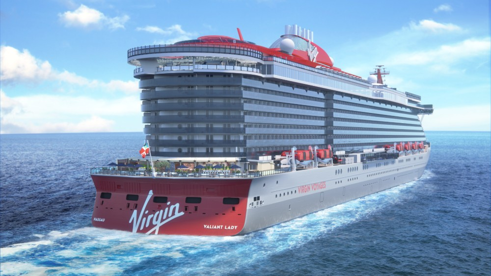 Virgin Voyages's second ship, Valiant Lady