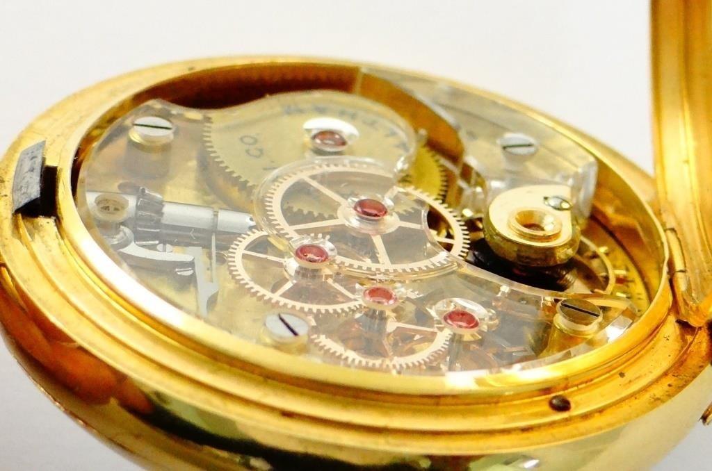 Waltham Crystal Plate Pocket Watch