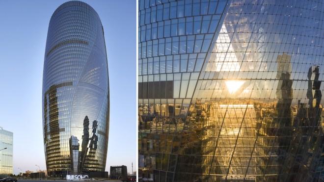 The Leeza SOHO tower