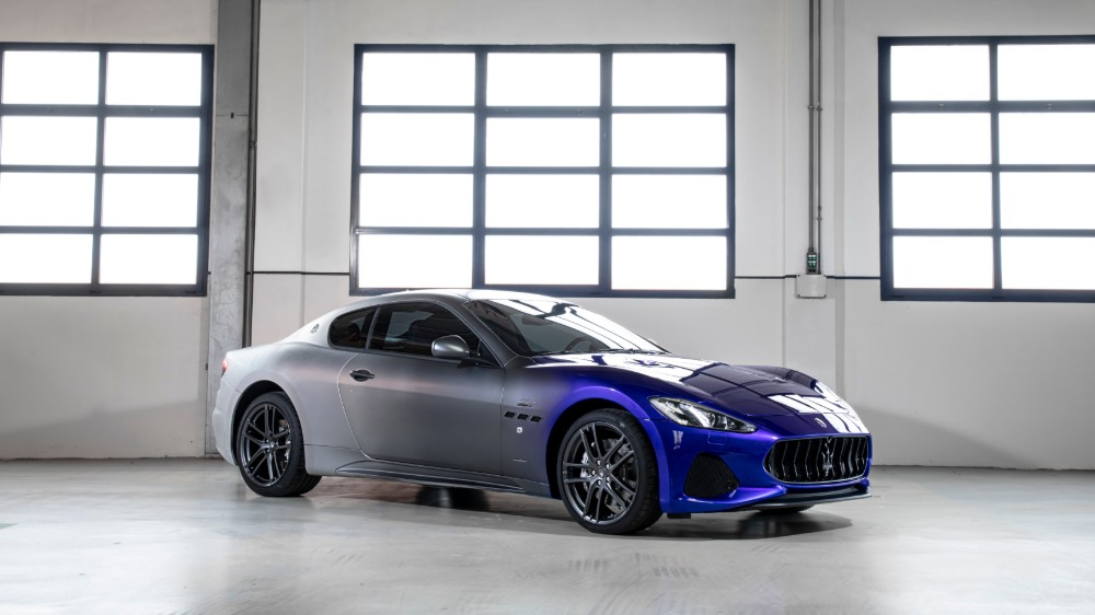 The one-off Maserati GranTurismo Zéda