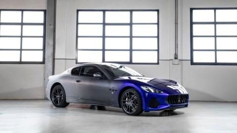 The one-off Maserati GranTurismo Zéda