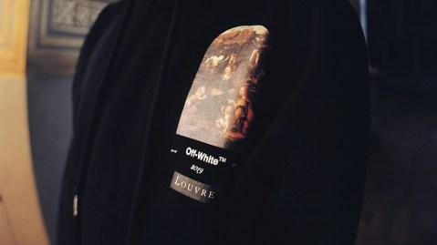 Off-White Leonardo da Vinci hoodie