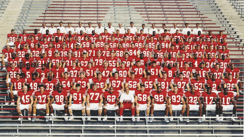 The 1993 Wisconsin Badgers illustrate how far college football has come over the years