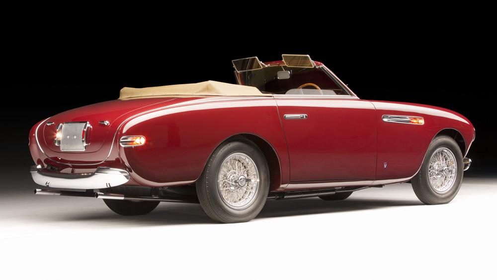 A 1951 Ferrari 212 Inter Cabriolet.