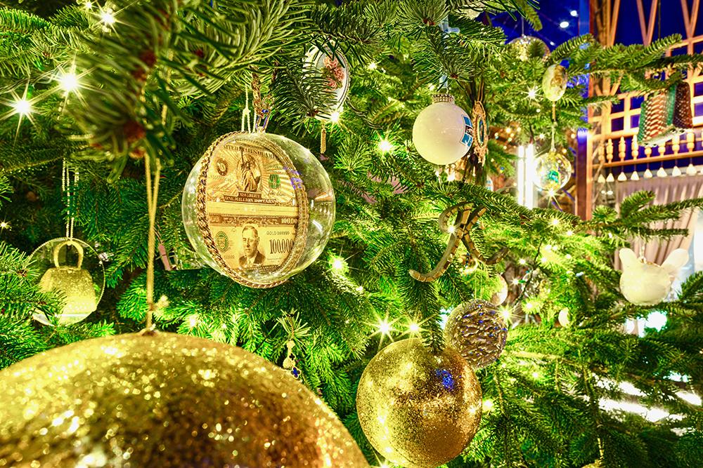 $15 Million Christmas Tree at Kempinski Hotel Bahia in Marbella, Spain