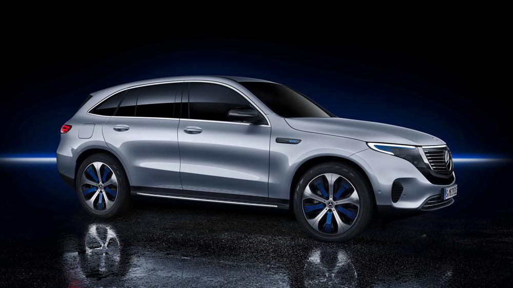 The 2020 Mercedes-Benz EQC.