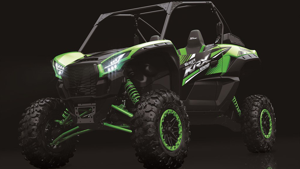 The Kawasaki Teryx KRX.