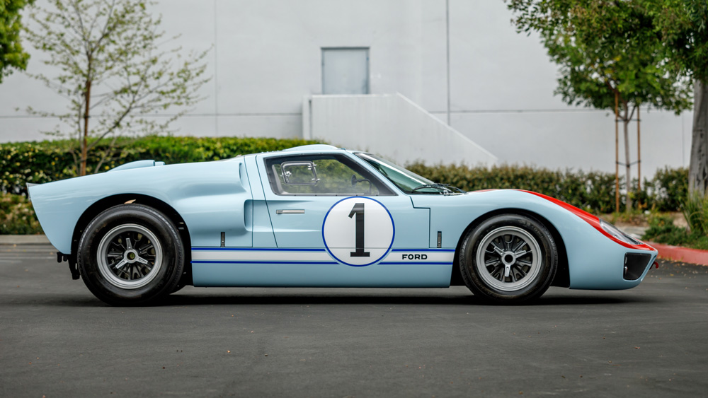 A 1966 Superformance Ford GT40 MKII.