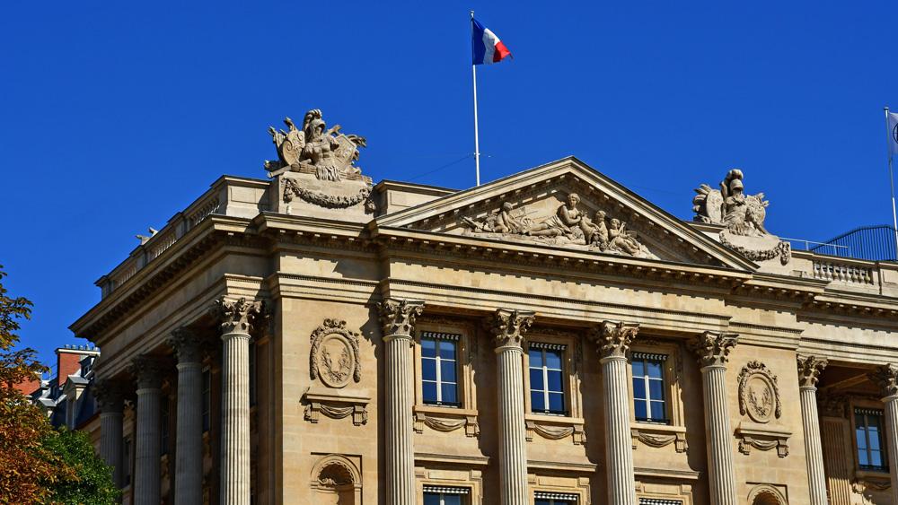 The Hôtel de Crillon in Paris.