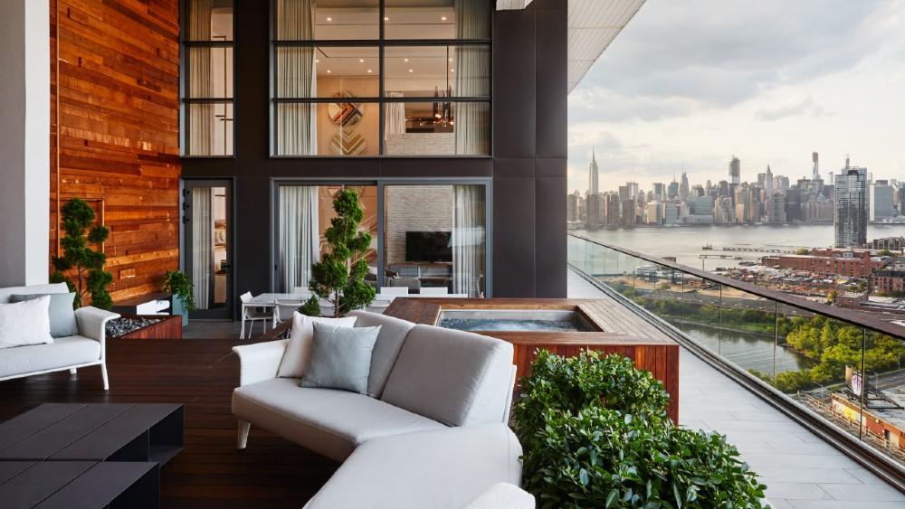 William Vale Hotel Brooklyn Penthouse