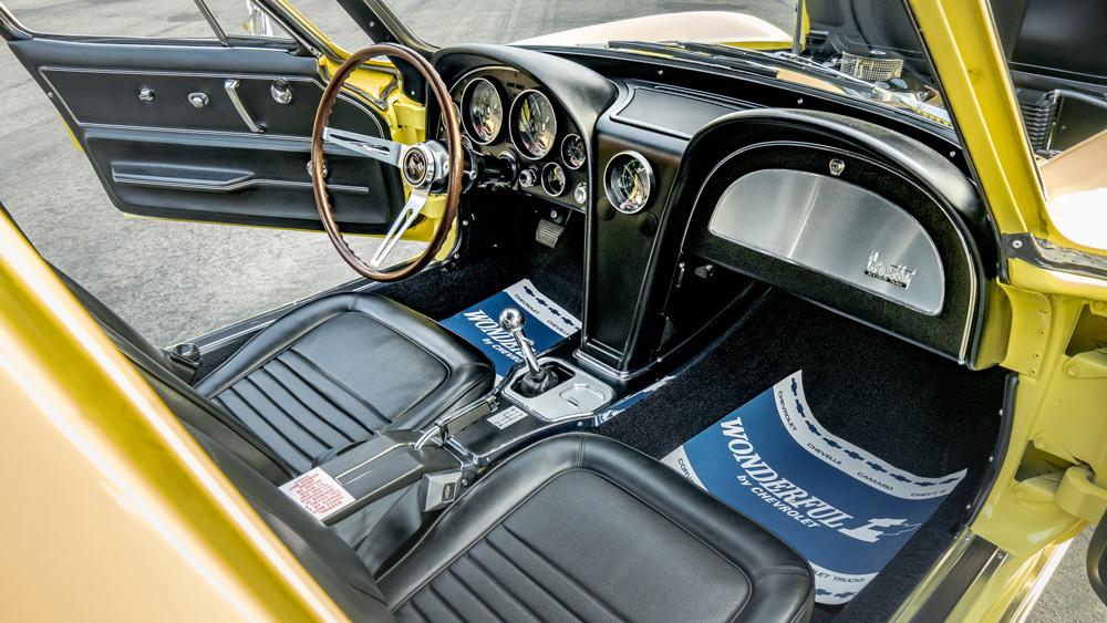 A 1967 L88 Corvette.
