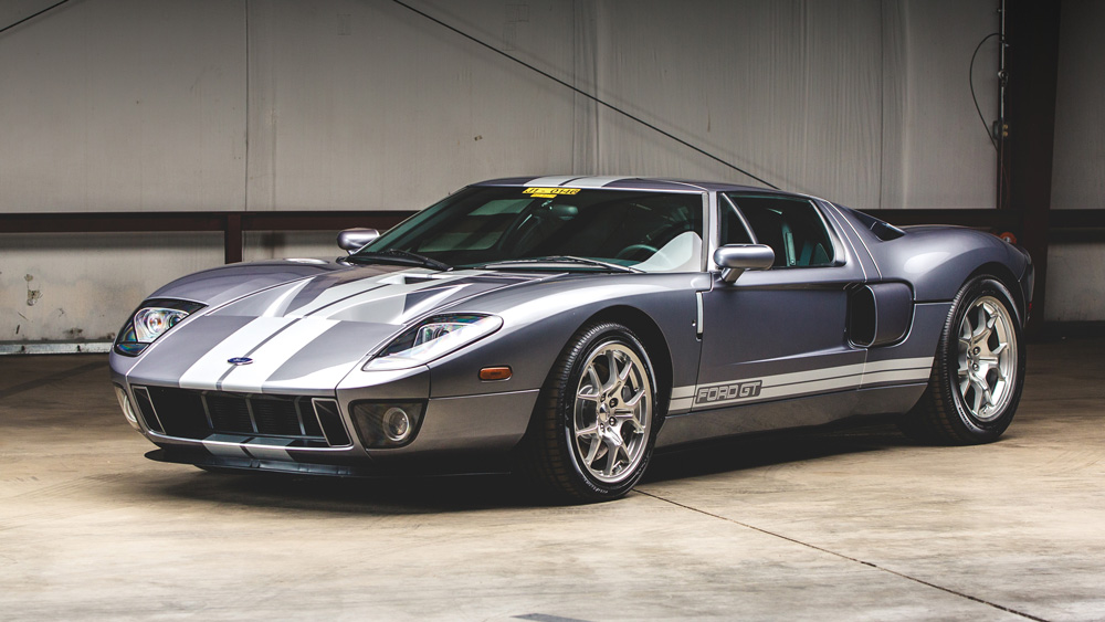 A 2006 Ford GT.