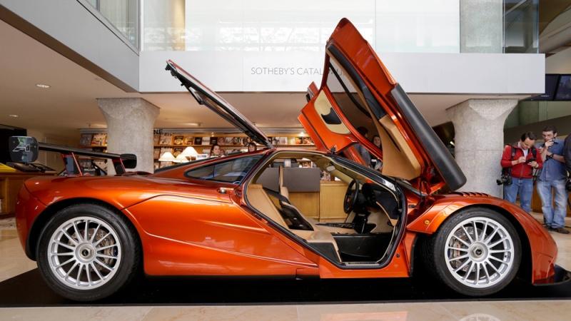 The McLaren F1 supercar.