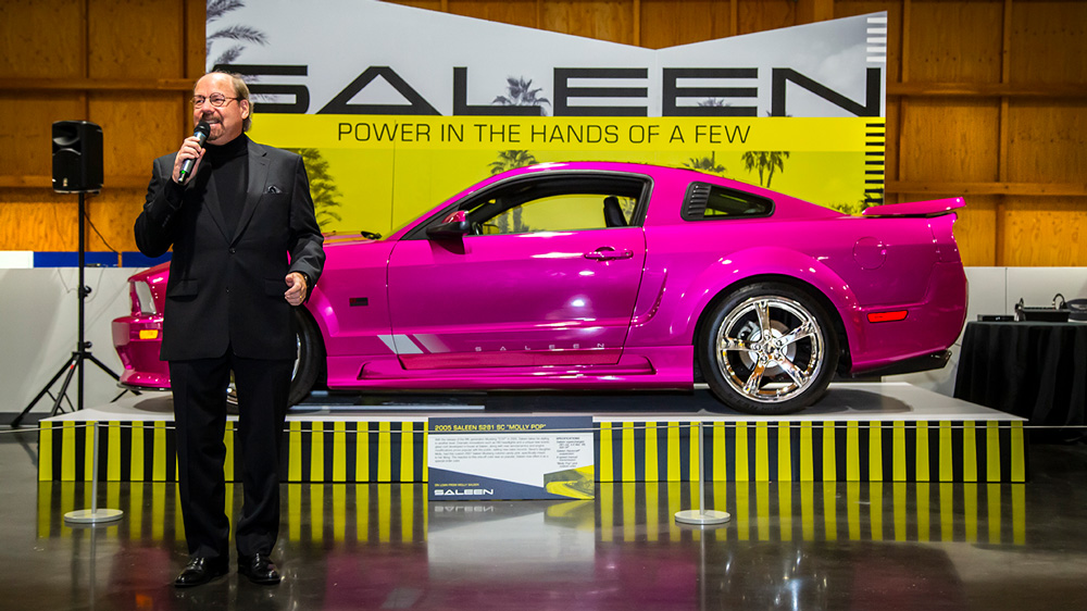 Steve Saleen at the LeMay Auto Museum.