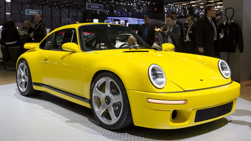 A 30th anniversary edition of the Ruf CTR.