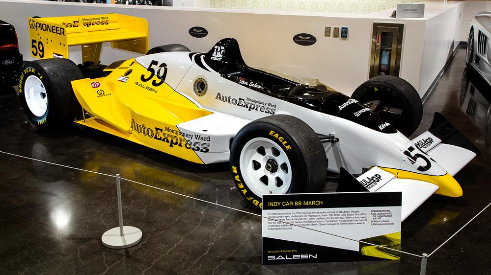Steve Saleen's 88 March Indy Car.