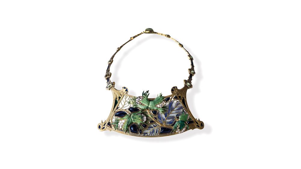 René Lalique Noisettes Necklace