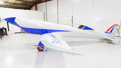 The Rolls-Royce Accel electric plane