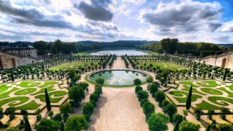 Le Grand Contrôle Chateau de Versailles France