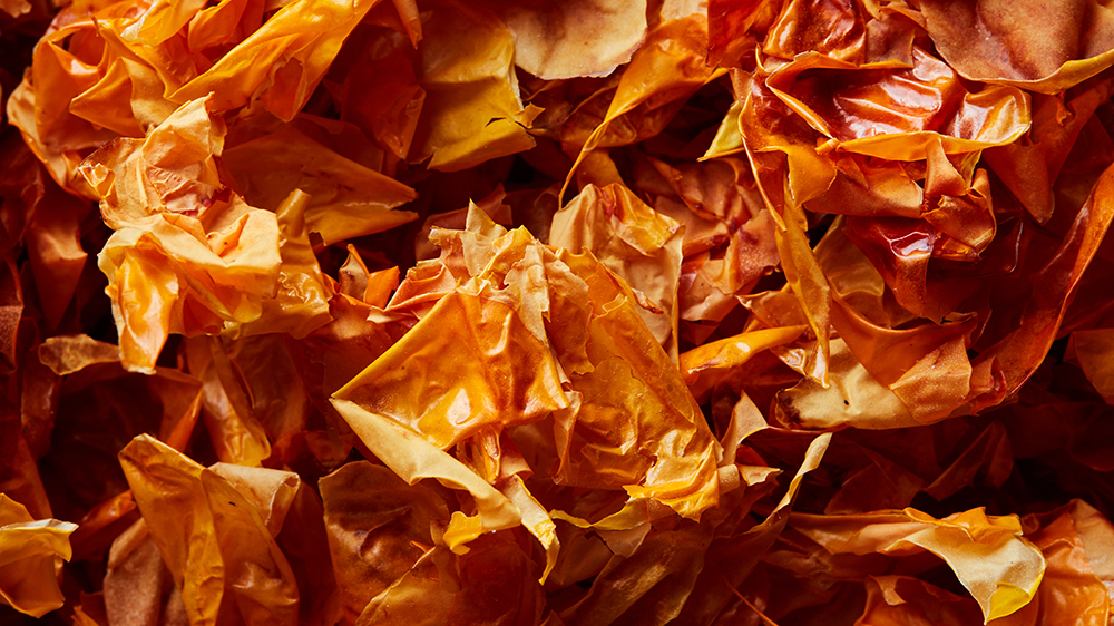Orlando's dried tomato skins