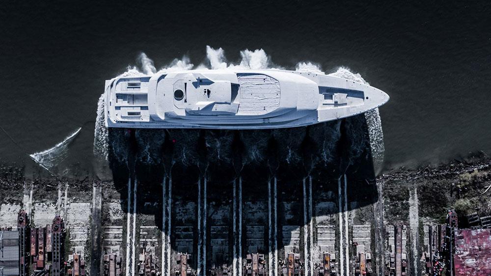 Amels' new full-custom 256-foot superyacht
