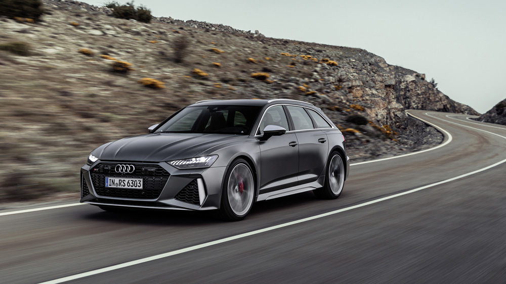 The Audi RS 6 Avant.