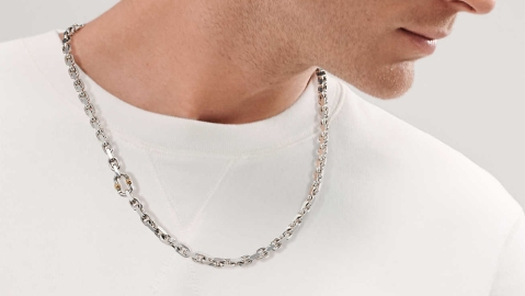 Tiffany & Co. is one of a number of jewelers with a renewed focus on men's neckalces