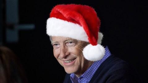 Bill Gates Santa