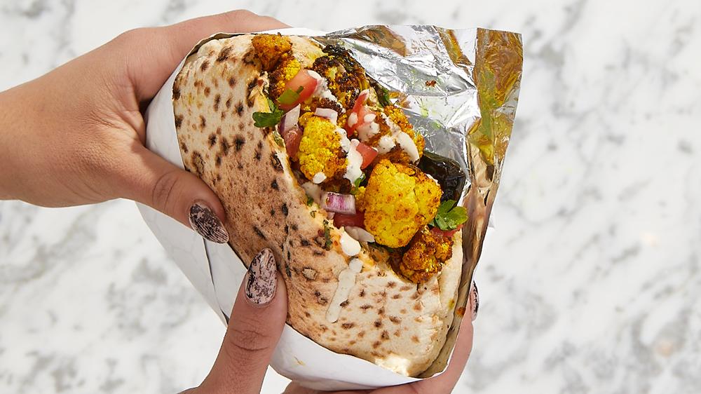 merkaz cauliflower shawarma
