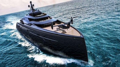 Officina Armare's 'Project Centauro' megayacht concept