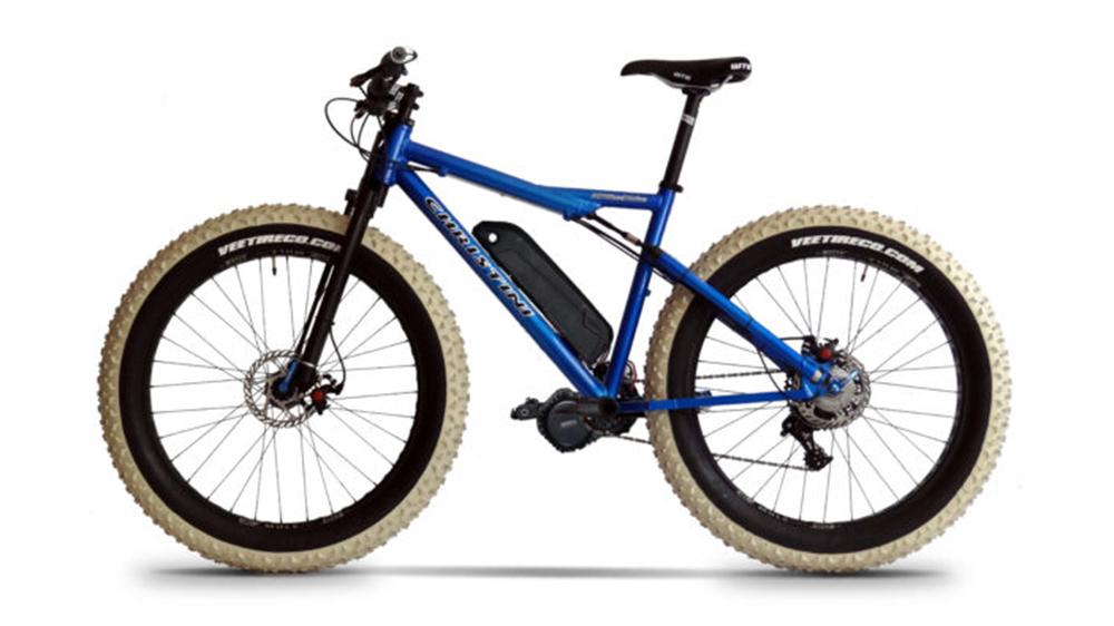 The Christini Fat E-5 All-Wheel-Drive Electric Mountain Bike
