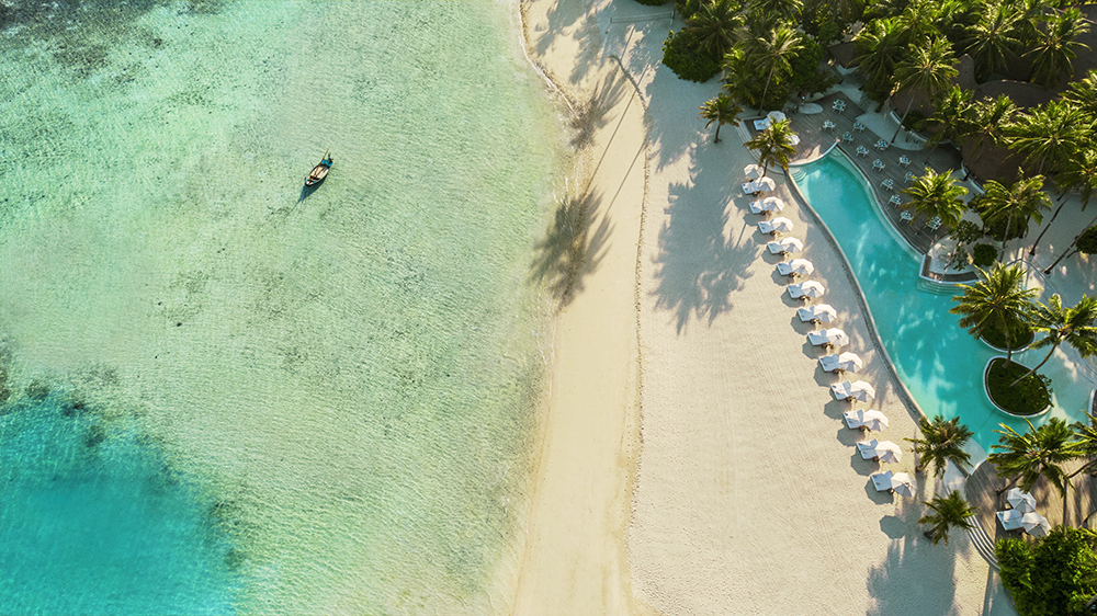 COMO Maalifushi Resort in the Maldives
