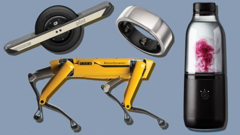 Onewheel PINT, Oura Ring, LifeFuels, Boston Dynamics SPOT robotic dog