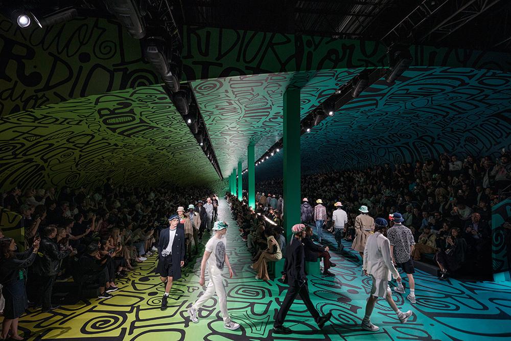 Dior's fall 2020 menswear show in Miami