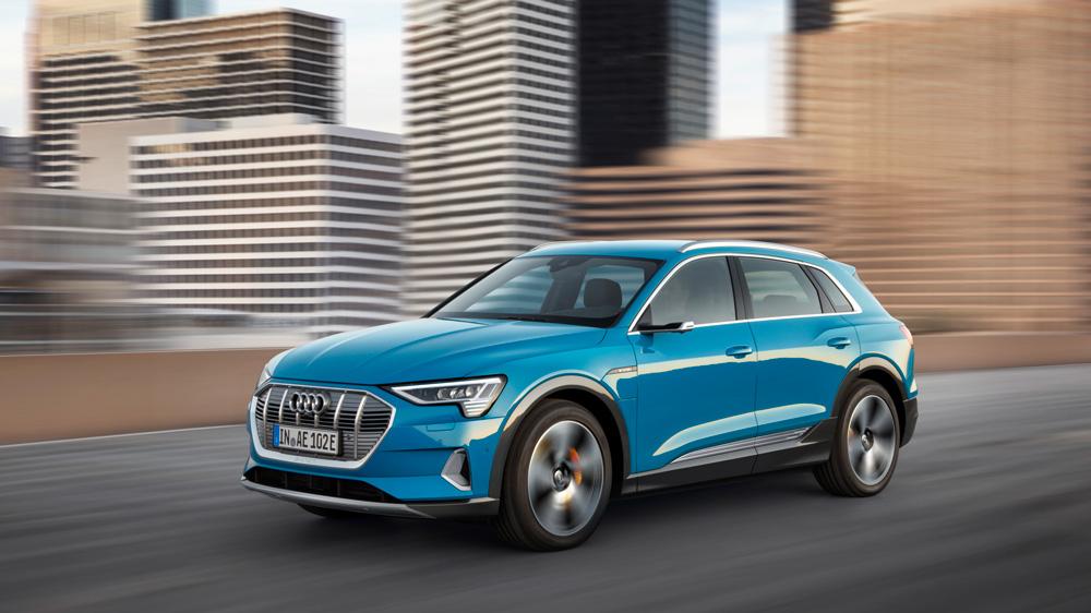 The Audi e-tron 55 quattro.