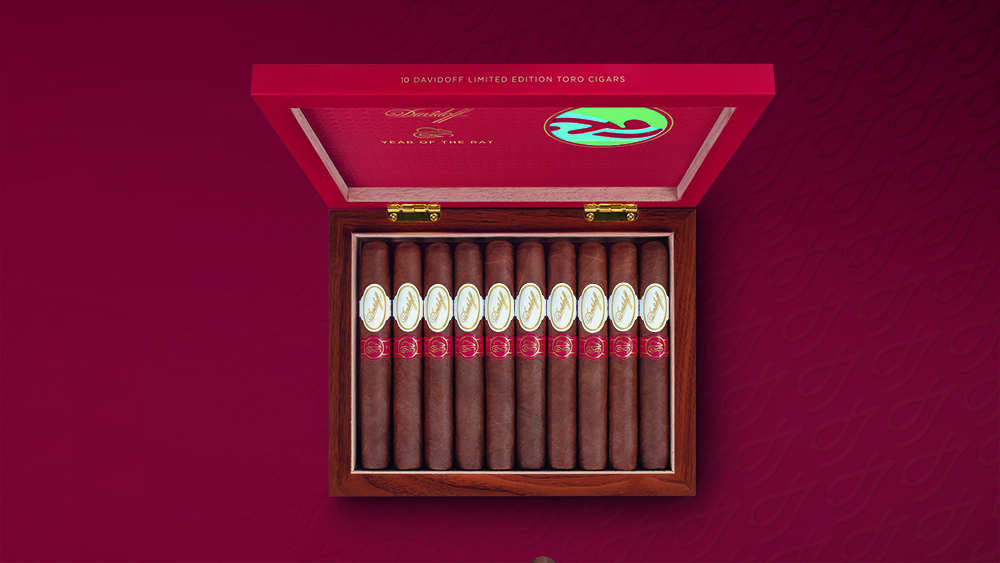 cigar Davidoff Year of the Rat