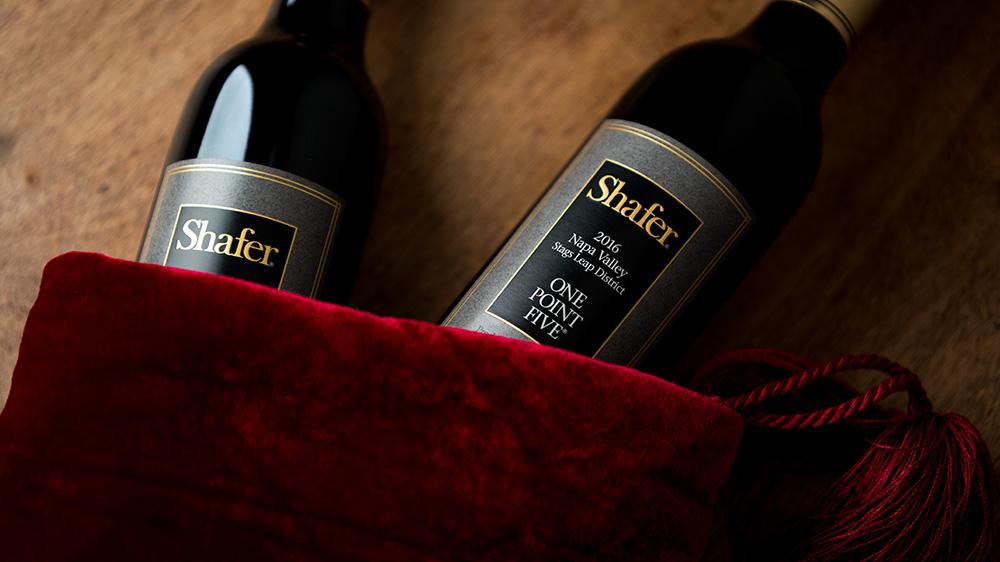 shafer cabernet wine