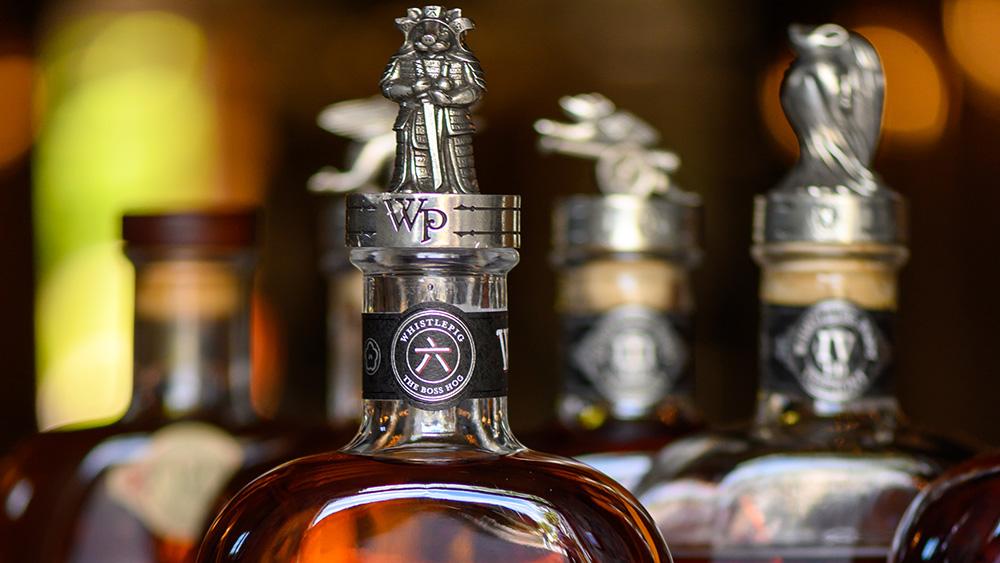 WhistlePig Boss Hog rye whiskey