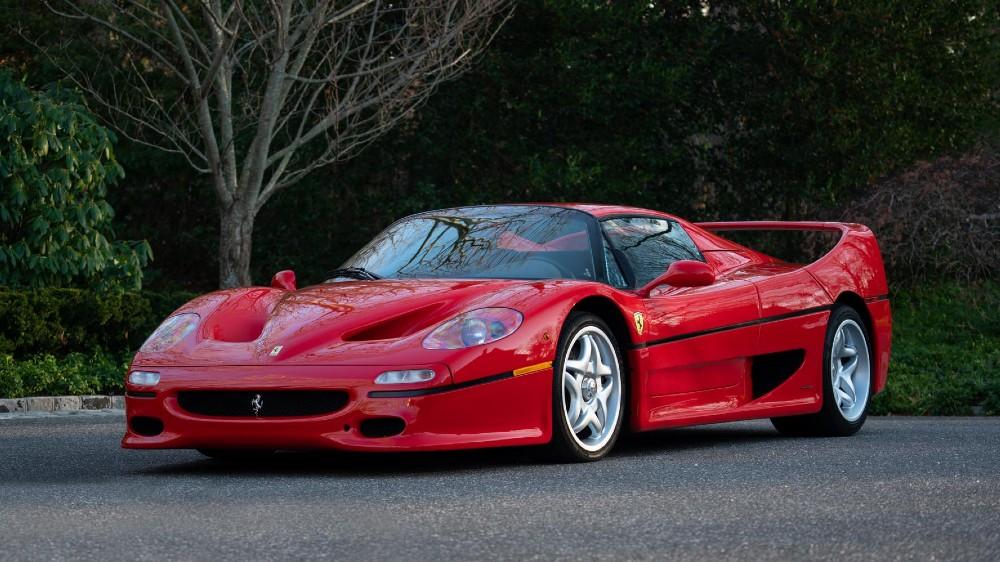 The 1995 Ferrari F50 Berlinetta Prototipo
