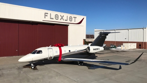 Embraer Praetor 500 at Flexjet