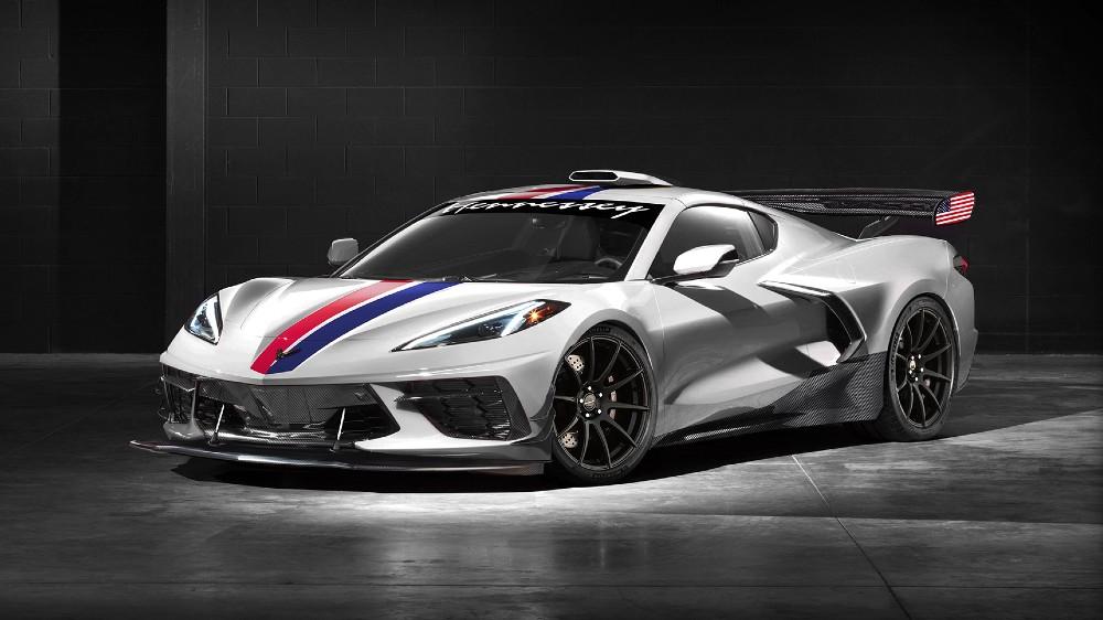 Hennessey Performance Engineering's 1200-hp Corvette C8 Stingray