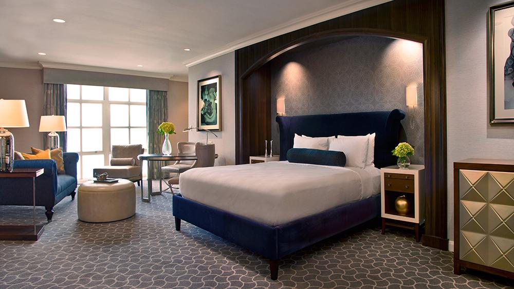 The Conrad Suite's master bedroom