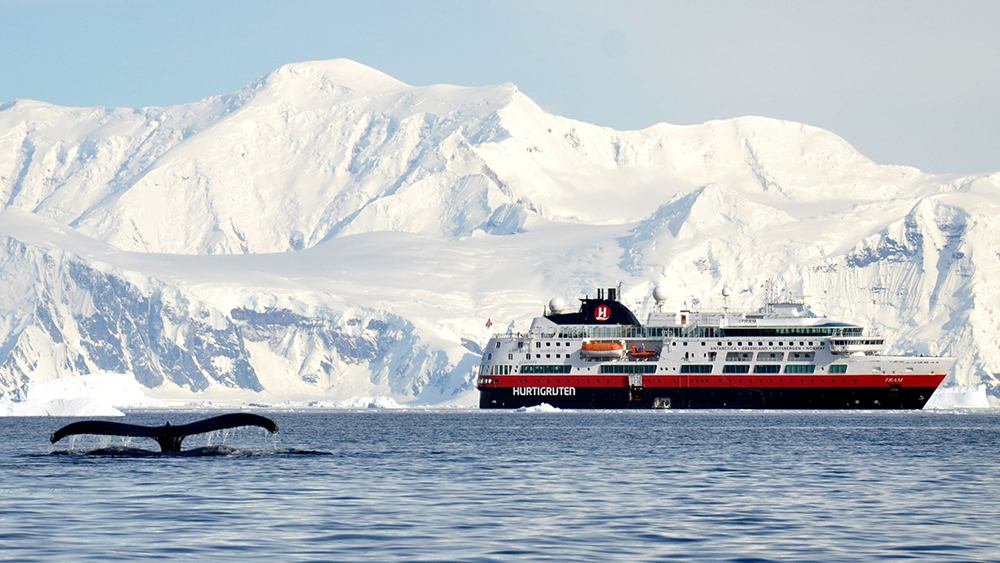 Hurtigruten offers adventure travelers bucket-list Antarctica voyages in 2021 featuring the opportunity to witness the total solar eclipse.