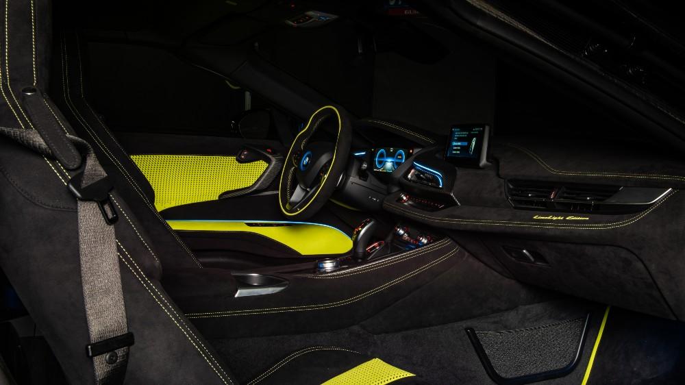 The BMX Italia X Alcantara i8 Roadster