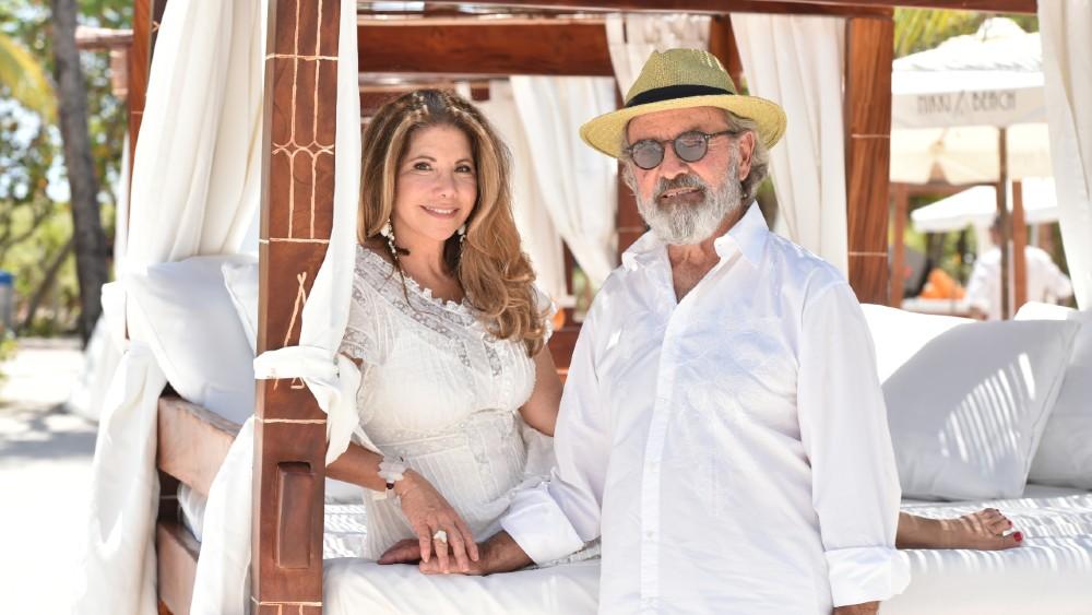 Nikki Beach founders Jack and Lucia Penrod