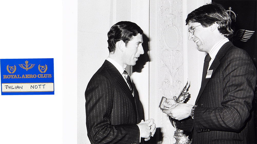 Julian Nott and Prince Charles