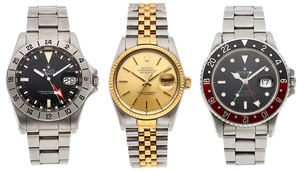 Julian Nott Rolex Collection
